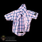 Shirt: DamToys Female Half Plaid Shirt