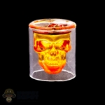 Cup: DamToys Skull Glass w/Ice