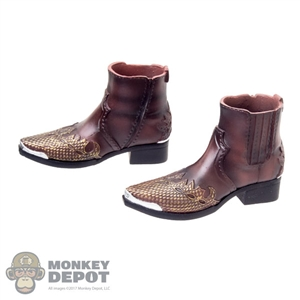 Boots: DamToys Molded Leather Boots