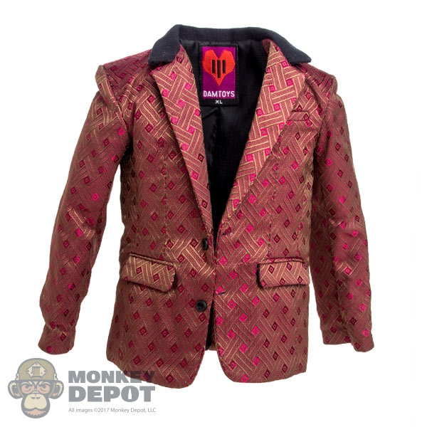 2590d6b1b64 Monkey Depot - Coat  DamToys Red Suit Jacket