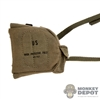 Bag: DamToys M17A1 Gas Mask Bag (Weathered)