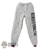 Pants: DamToys Mens Grey Sweatpants