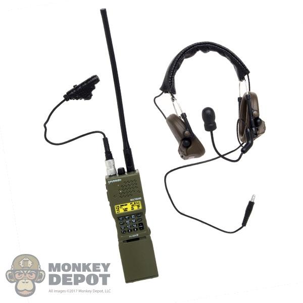 Radio: DamToys AN/PRC 152 w/Peltor Comtec II Headset & U94 V 2 PTT