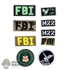 Insignia: DamToys FBI Patch Set