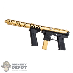 Rifle: DamToys Gold Plated Tec-9