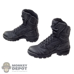 Boots: DamToys Black Molded Tactical Boots