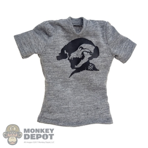 Shirt: DamToys Male Grey T-Shirt