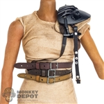 Guard: DamToys Female Leatherlike Belts w/Shoulder Pad