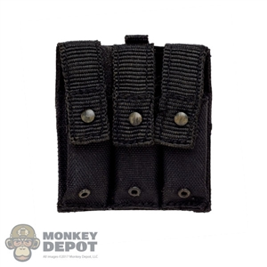 Pouch: DamToys ABA Triple MP5 Mag Pouch (Velcro Back)