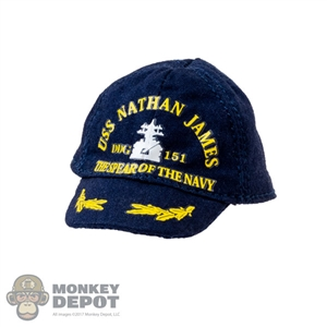 Hat: DamToys USS Nathan James Cap