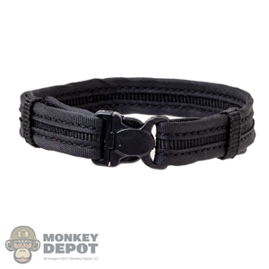 Belt: DamToys Black Padded Belt