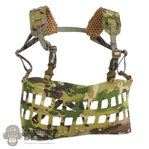 Vest: DamToys Tactical Lightweight MOLLE Chest Rig (Multicam)