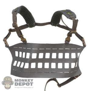 Vest: DamToys Tactical Lightweight MOLLE Chest Rig (Gray)