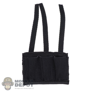 Ammo: DamToys Speed Triple Mag Pouch (Black)