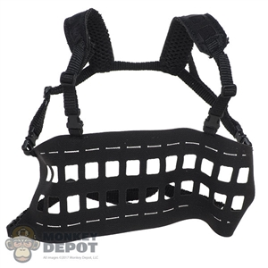 Vest: DamToys Tactical Lightweight MOLLE Chest Rig (Black)