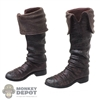 Boots: DamToys Mens Molded Pirate Boots