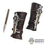 Knives: DamToys Forearm Gauntlets w/Removable Blades