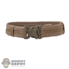 Belt: DamToys Brown Padded Belt