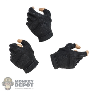 Hands: DamToys Mens Fingerless Molded Gloved Set