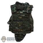 Vest: DamToys Type 15 Tactical Vest w/Throat, Yoke, Collar & Groin Protector