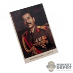 "Tool: DamToys 1"" x 1.5"" Picture Of Saddam Hussein"