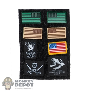 Insignia: DamToys Decade Navy Seal 2003-2013 Patch Set