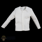 Shirt: DamToys Mens White Long Sleeve Under Shirt