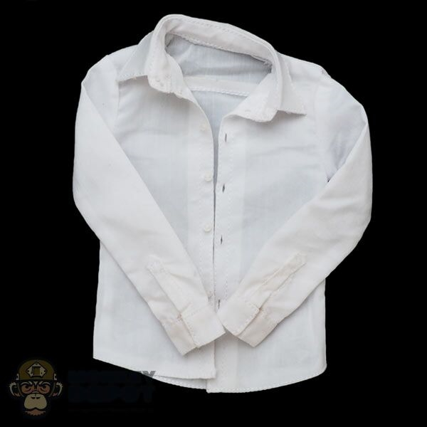 9ebd35da0ef Monkey Depot - Shirt  DamToys Mens White See-Through Dress Shirt