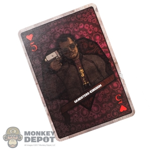 Tool: DamToys 1:1 5 Of Hearts Bowen Card