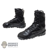 Boots: DamToys Mens Black Viper Byteks