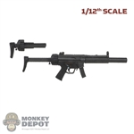 Rifle: DamToys 1/12th MP5-SD 9mm Suppressed Submachine gun w/Extra Stock