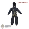 Harness: DamToys 1/12th Mens Green Abseil Harness