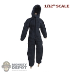 Uniform: DamToys 1/12th Mens Blue Coverall w/Hood