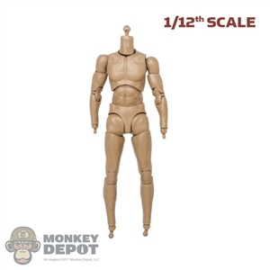 Figure: DamToys 1/12th Nude Base Body w/Pegs