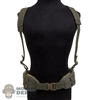 Belt: DamToys OD Green Tactical MOLLE Belt w/Harness