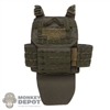 Vest: DamToys Mens OD Green Tactics Class Body Armor
