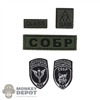 Insignia: DamToys Russian Spetsnaz MVD SOBR LYNX Patch Set