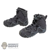 Boots: DamToys Mens GTX Grey Boots