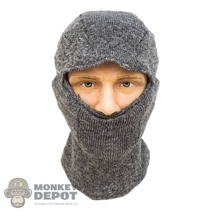 Mask: DamToys Mens Heather Grey Balaclava