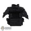 Vest: DamToys Mens Eximius Body Armor w/Shoulder Pads