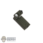 Flashlight: DamToys OD Green Streamlight Sidewinder