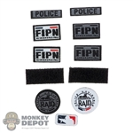 Insignia: DamToys FIPN Patch Set (Peel + Stick)