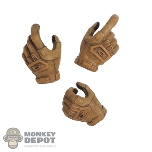 Hands: DamToys Female Molded Gloved Hand Set