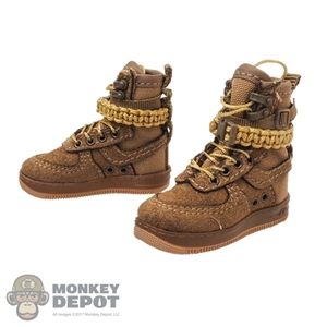 Boots: DamToys Female Coyote Tan Trend Boots