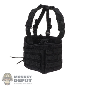 Vest: DamToys Female Black Tactical Vest
