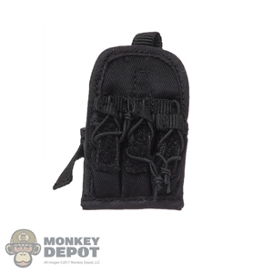 Pouch: DamToys Black Triple Ammo Leg Drop