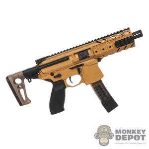 Rifle: DamToys SIG MPX-K Submachine Gun (Sand Color)