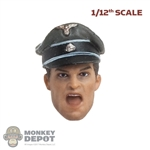 Head: DamToys 1/12th Open Screaming Hans w/Molded Crusher Visor Cap