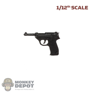 Pistol: DamToys 1/12th Walther P38 Pistol