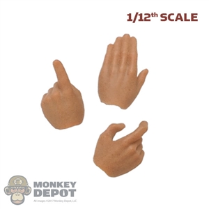 Hands: DamToys 1/12th Mens Action Hands Set